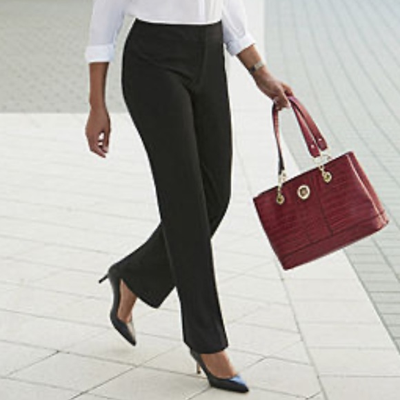 Liz Claiborne Pants - Liz Claiborne Audra Straight Leg Pant NWT Size 18